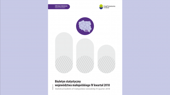 Statistical Bulletin of the city of Krakow - IV quarter 2018