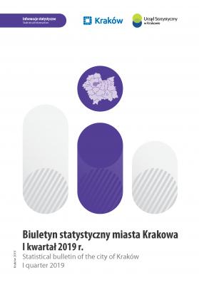 Statistical Bulletin of the city of Krakow - I quarter 2019
