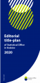 Editorial title-plan of Statistical Office in Kraków 2020 Foto